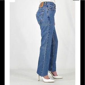 Levi's 505 vintage high waist moms denim jeans